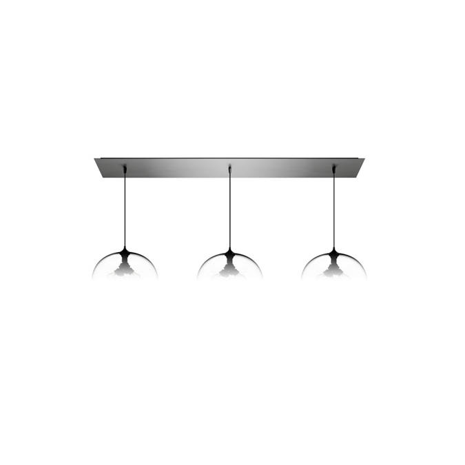 Linear-3 Large Modern Chandelier
